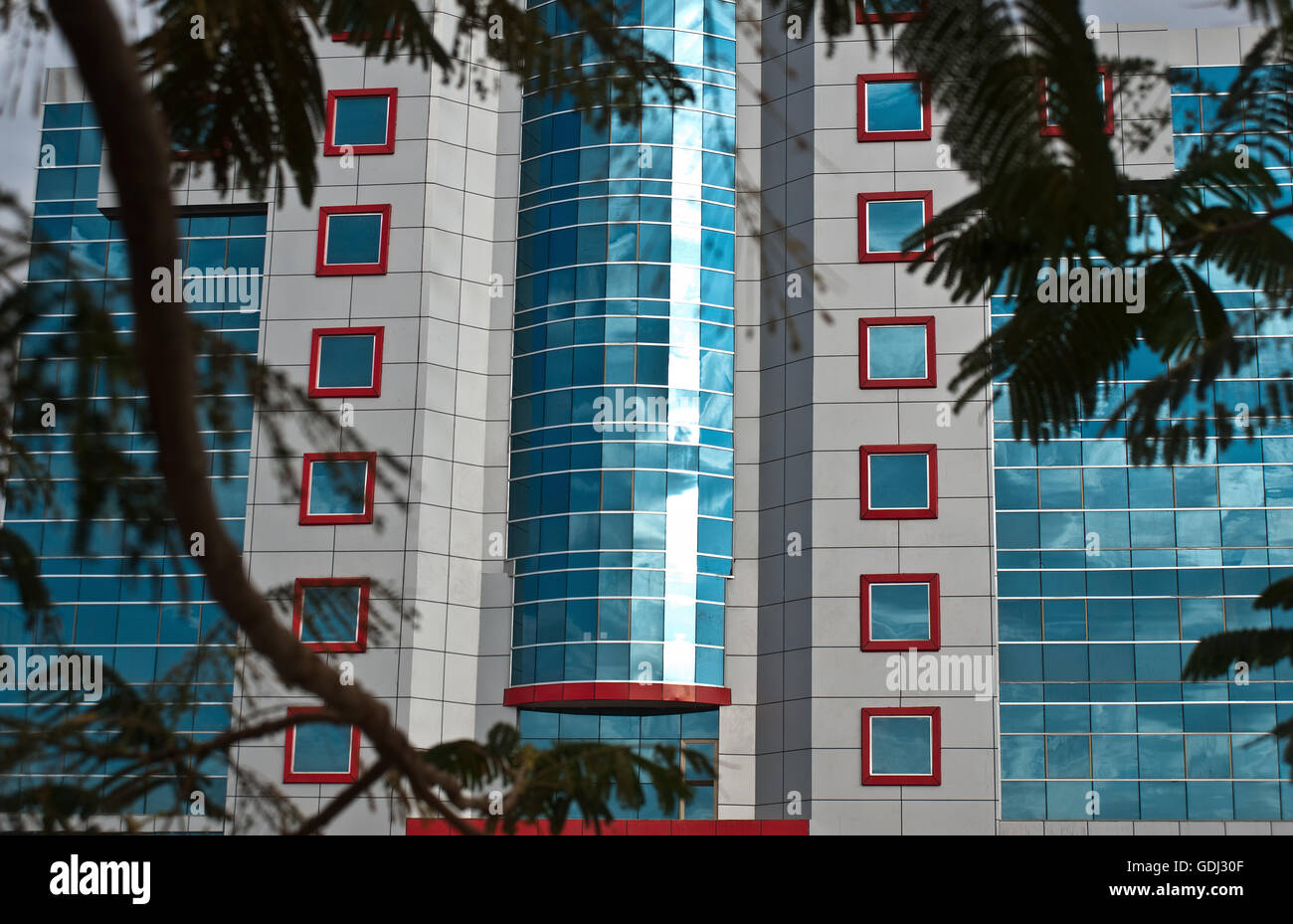 Modern building ( Ethiopia) - Stock Image