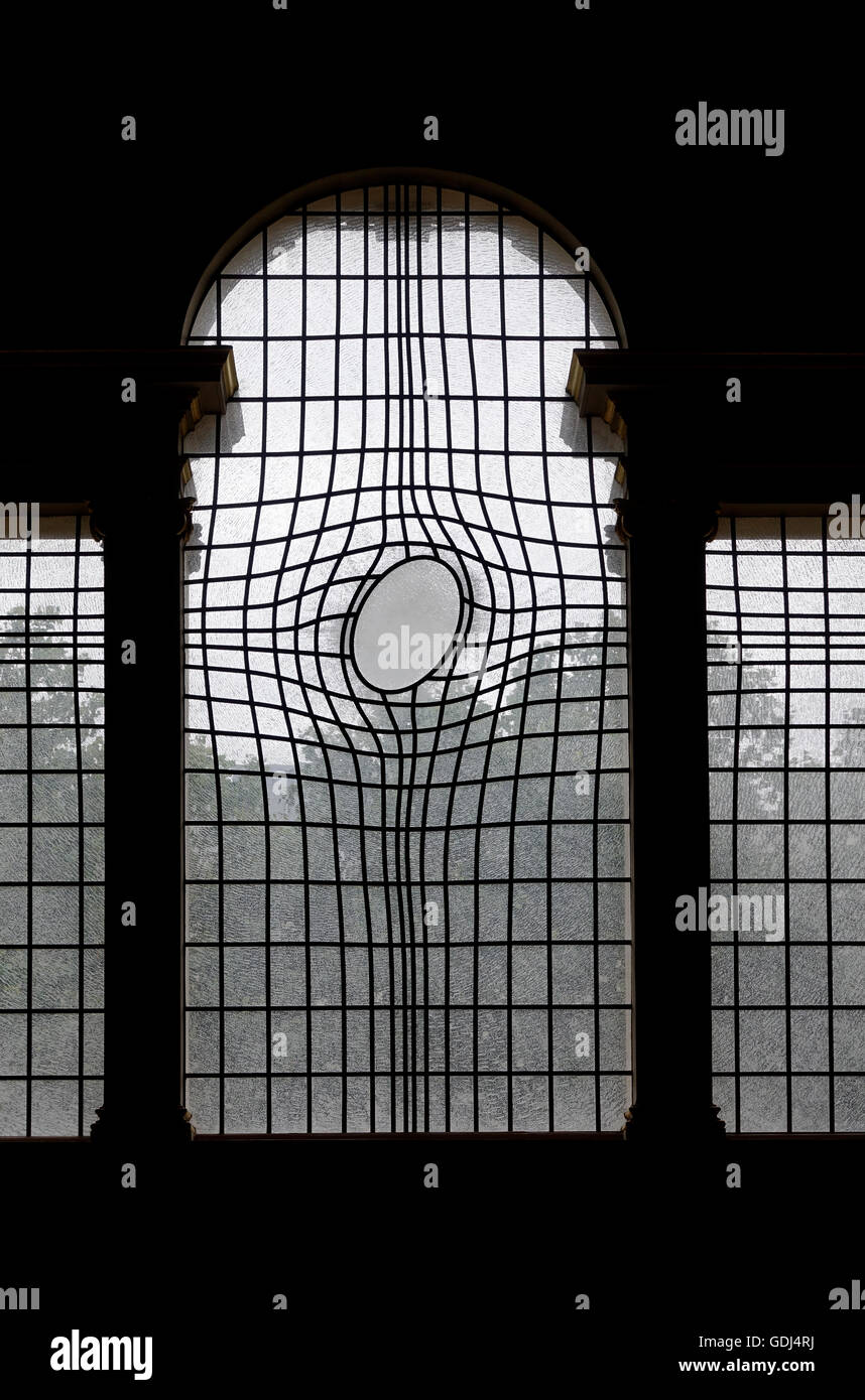 Large Window in St.Martin in the Fields Church, London -1 - Stock Image