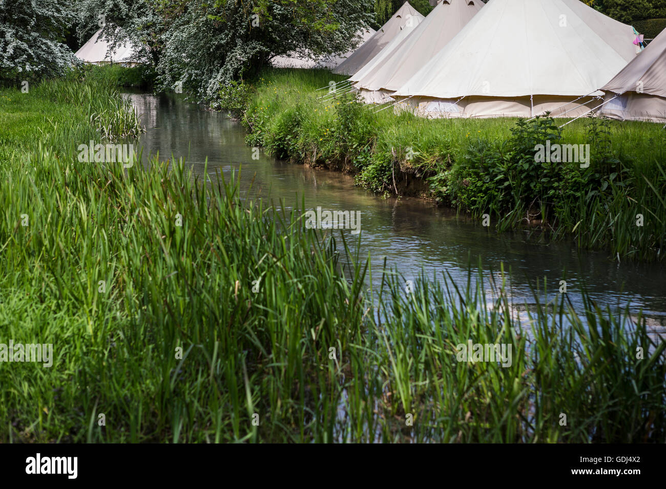 Canvas Tents Stock Photos & Canvas Tents Stock Images - Alamy
