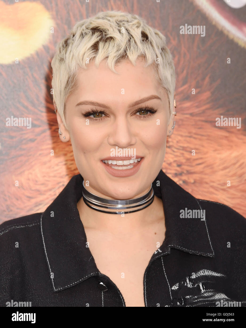 JESSIE J  US singer in July 2016. Photo Jeffrey Mayer - Stock Image