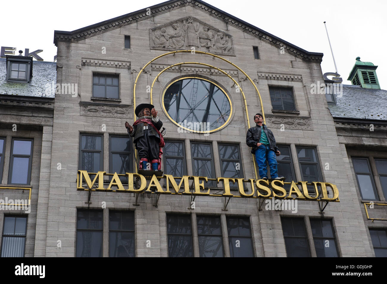 Madame Tussaud in Amsterdam, Holland, Netherdalnds. - Stock Image