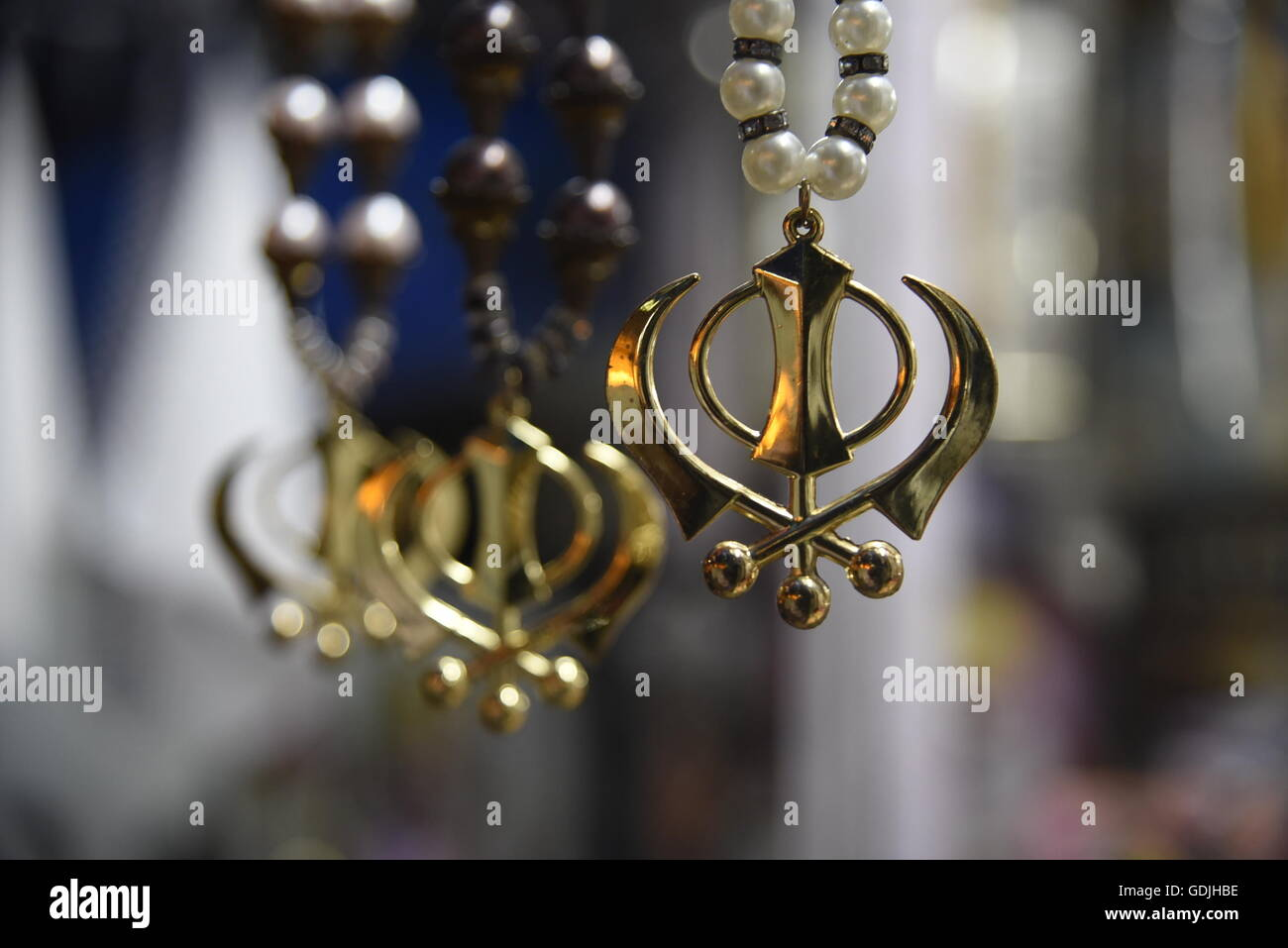 Sikhism Emblem Khanda Religious Symbol The Insignia Of The Khalsa