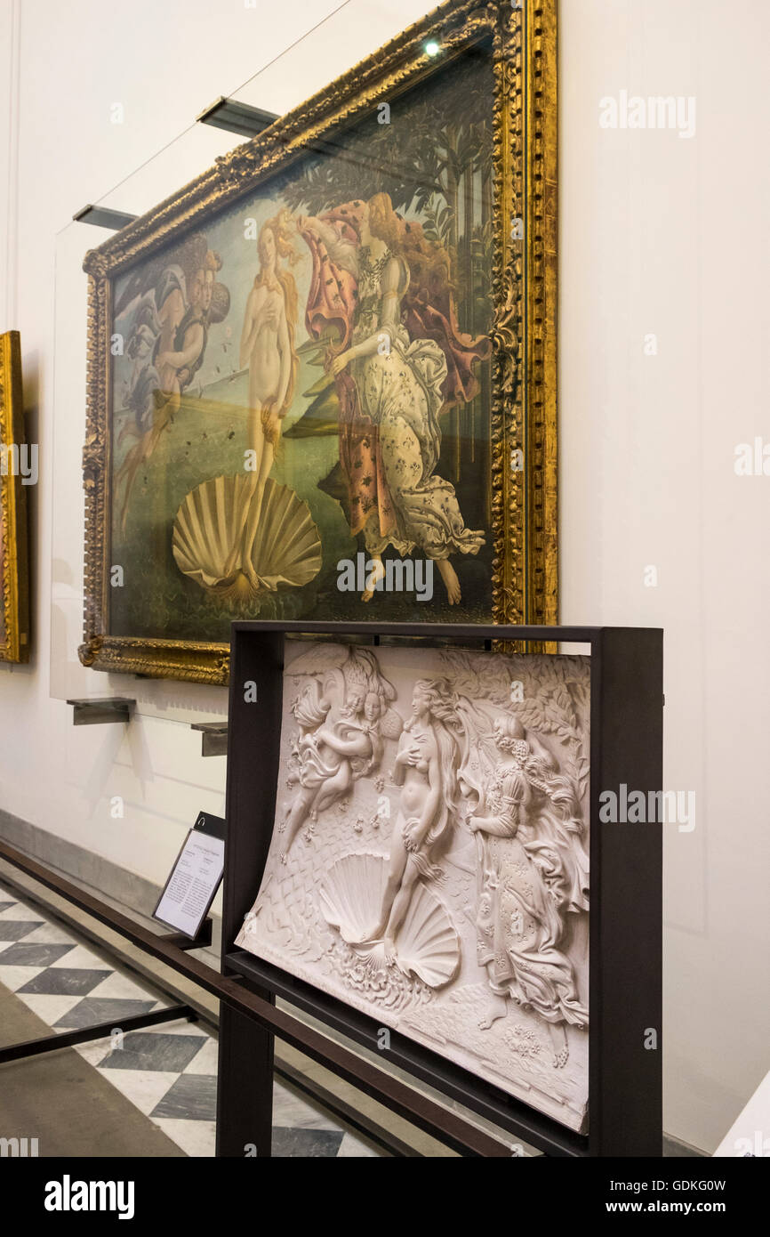 Image result for 3d model of spring by botticelli in the uffizi