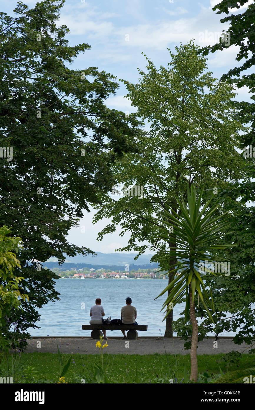 Mainau Island, Lake Constance, Baden-Wuerttemberg, Germany - Stock Image