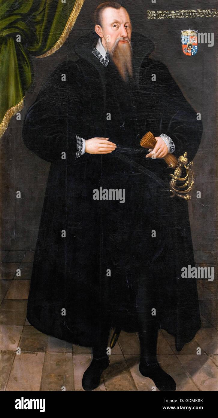 Johan Baptista van Uther, attributed to - Per Brahe the Elder (1520 – 90) - Stock Image