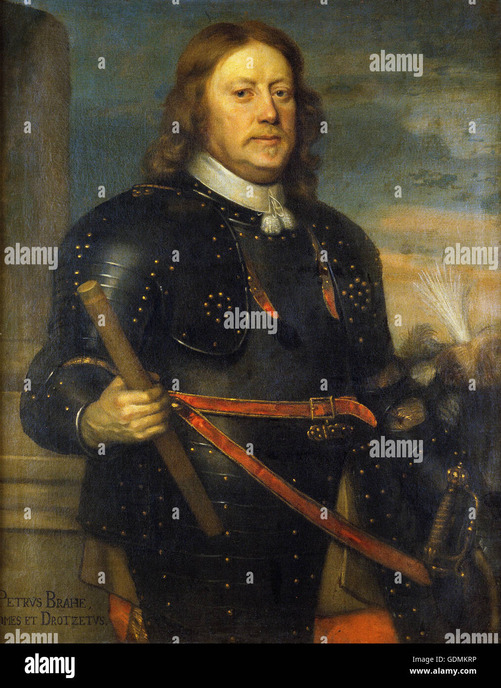 David Beck - Per Brahe the Younger (1602 – 80) - Stock Image