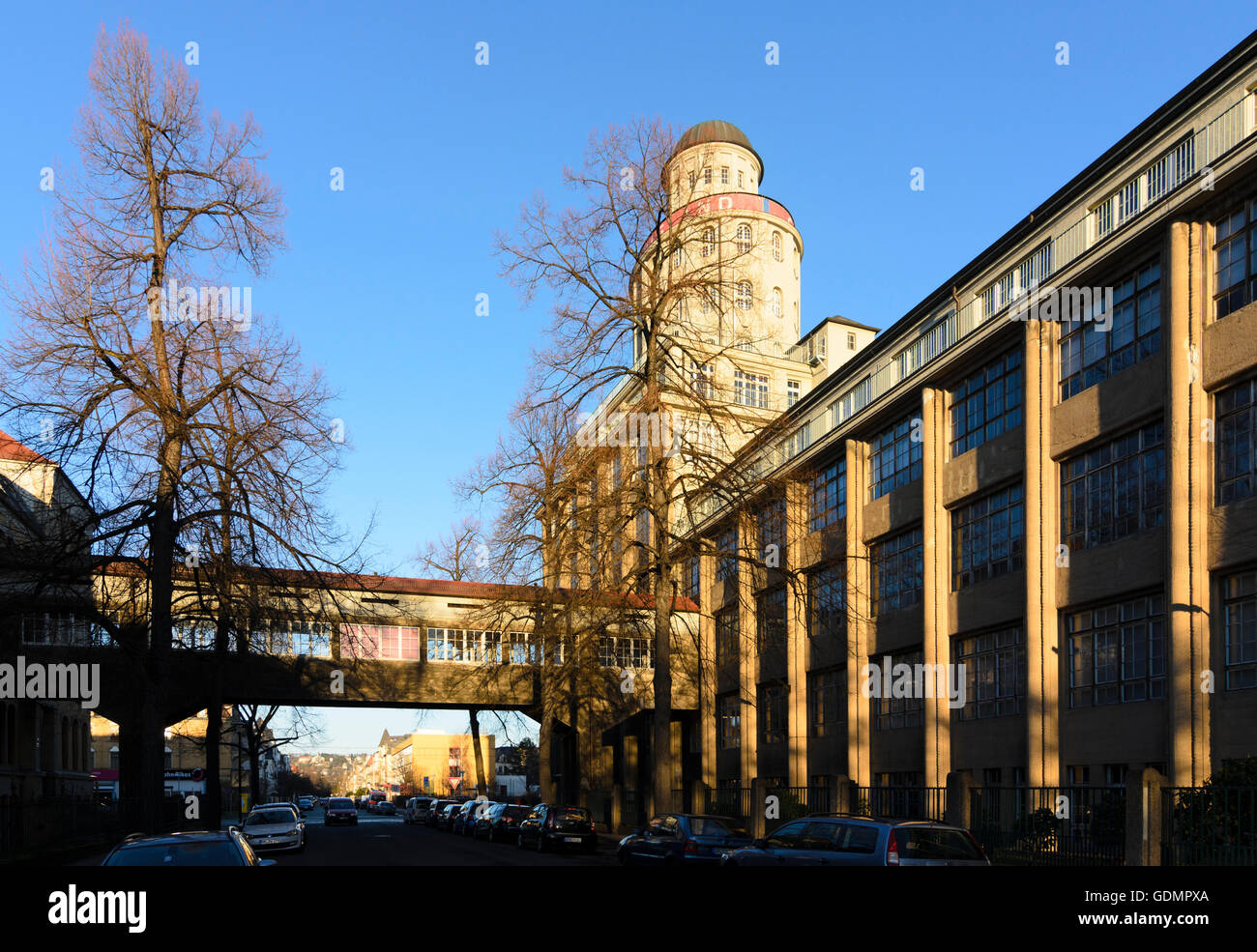 Dresden: Technical collections in the former Ernemann works, Germany, Sachsen, Saxony, - Stock Image