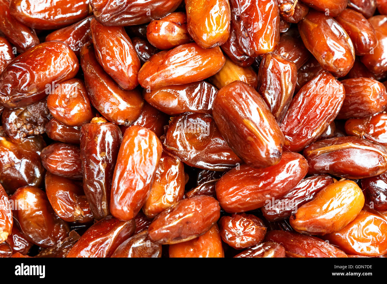 Date palm on a traditional craftsman market.Horizontal image. - Stock Image