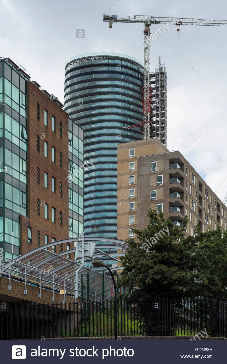 Baltimore Tower - Isle of Dogs - Stock Image