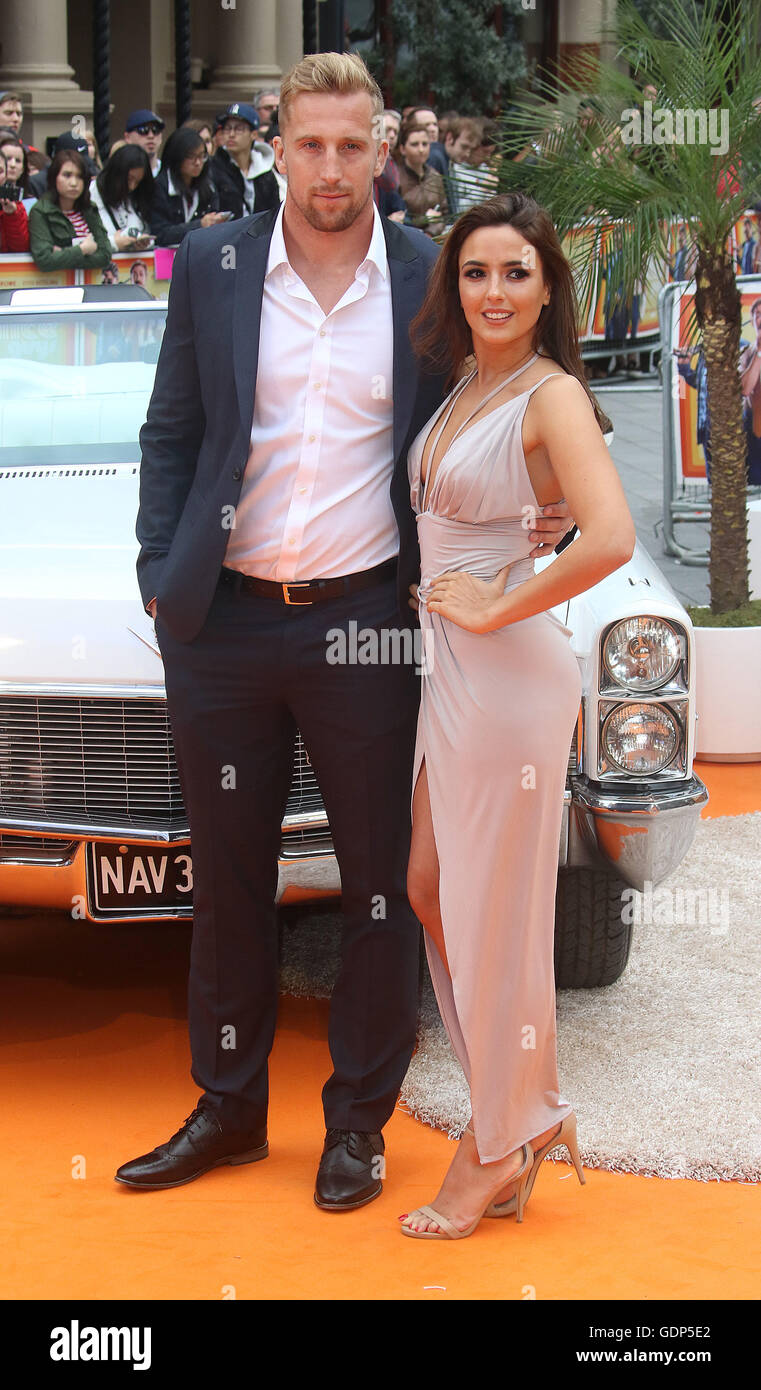 May 19, 2016 - Nadia Forde attending UK Premiere of 'The Nice Guys' at Odeon, Leicester Square in London, - Stock Image