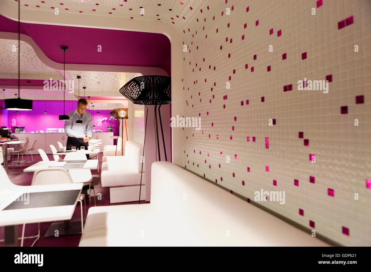 restaurant of roommate hotel emma rosell 205932 385 606 barcelona catalonia