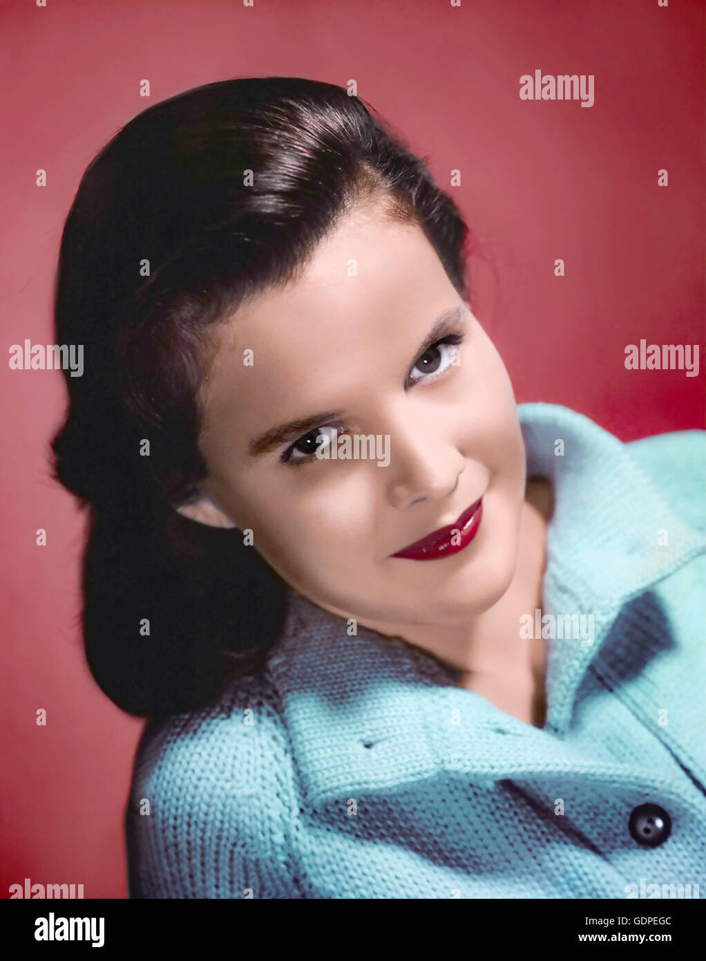 CARROLL BAKER  US film actress in 1956 - Stock Image
