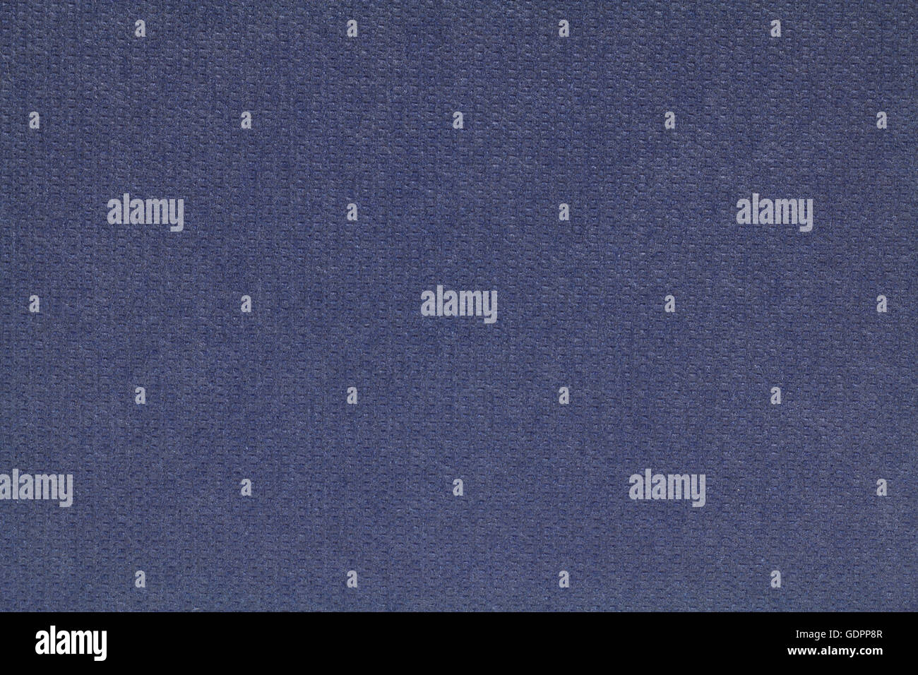 navy blue fabric paper texture background - Stock Image