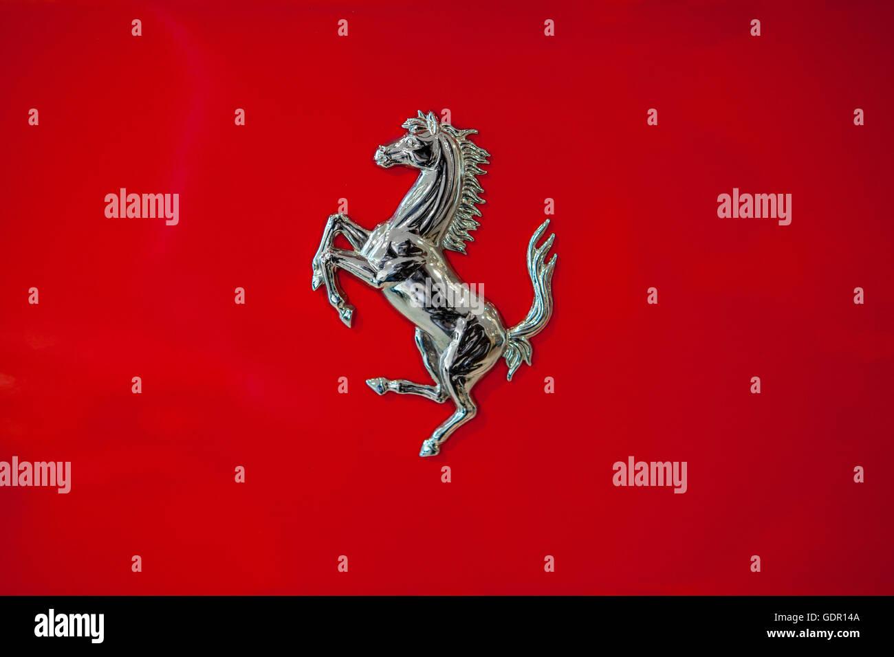 Ferrari Horse Stock Photos Ferrari Horse Stock Images Alamy