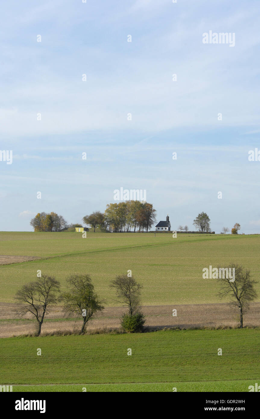 geography / travel, Germany, Rhineland-Palatinate, Reifenberg, landscape, Additional-Rights-Clearance-Info-Not-Available Stock Photo