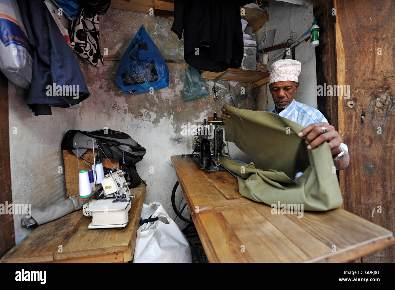 geography / travel, Tansania, Sansibar, Stonetown, , Additional-Rights-Clearance-Info-Not-Available - Stock Image