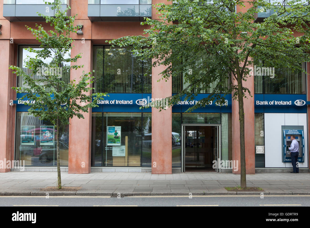 Donegall Square South, Belfast, UK. 20th July 2016 The Front of City Hall branch of Branch, which is one of the - Stock Image