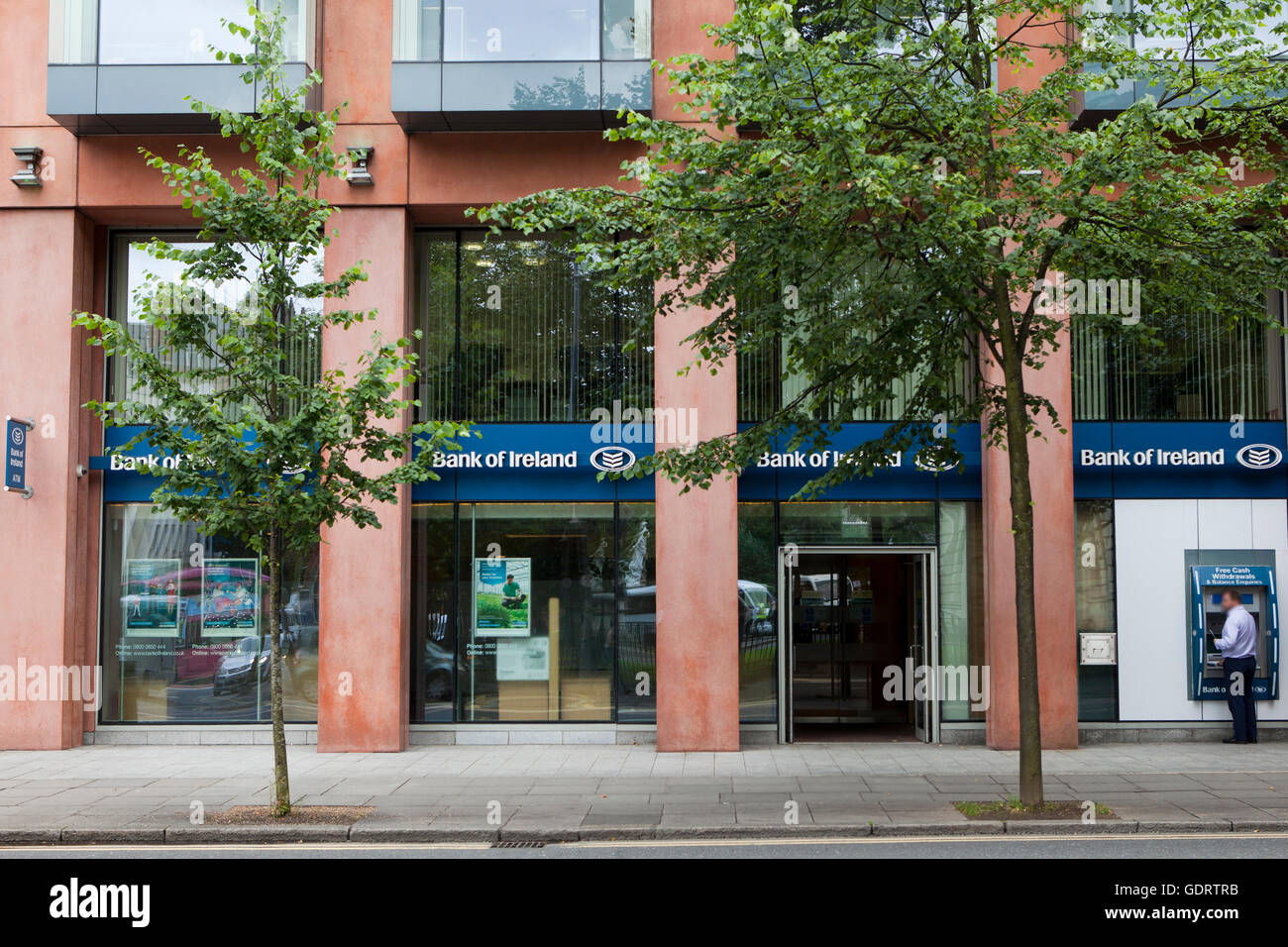 Donegall Square South, Belfast, UK. 21st July 2016 The Front of City Hall branch of Branch, which is one of the - Stock Image