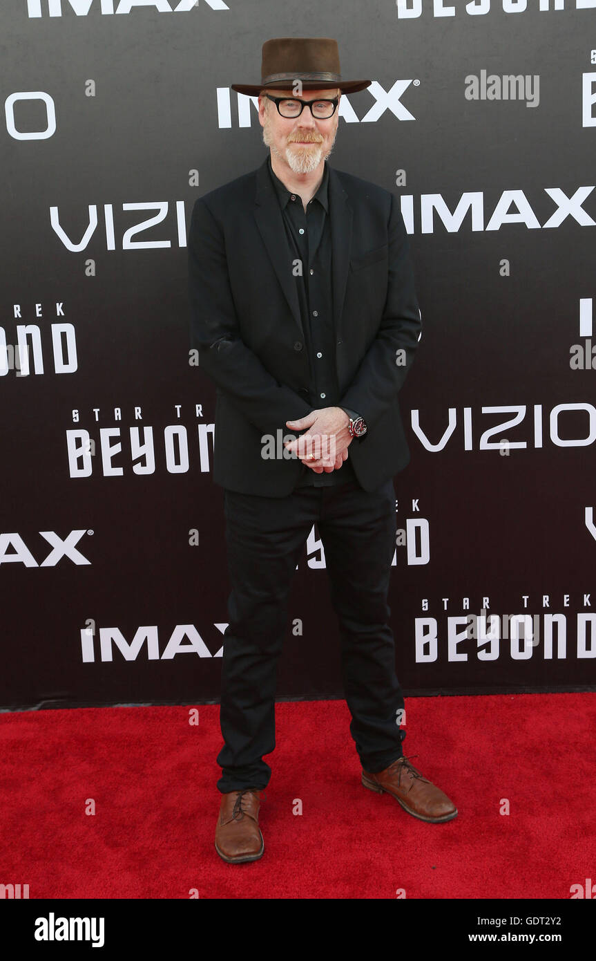 July 20, 2016 - San Diego, CA, United States - 20 July 2016 - San Diego, California - Adam Savage. ''Star Trek Beyond'' San Diego Premiere held at Embarcadero Marina Park South. Photo Credit: AdMedia (Credit Image: © AdMedia via ZUMA Wire) Stock Photo