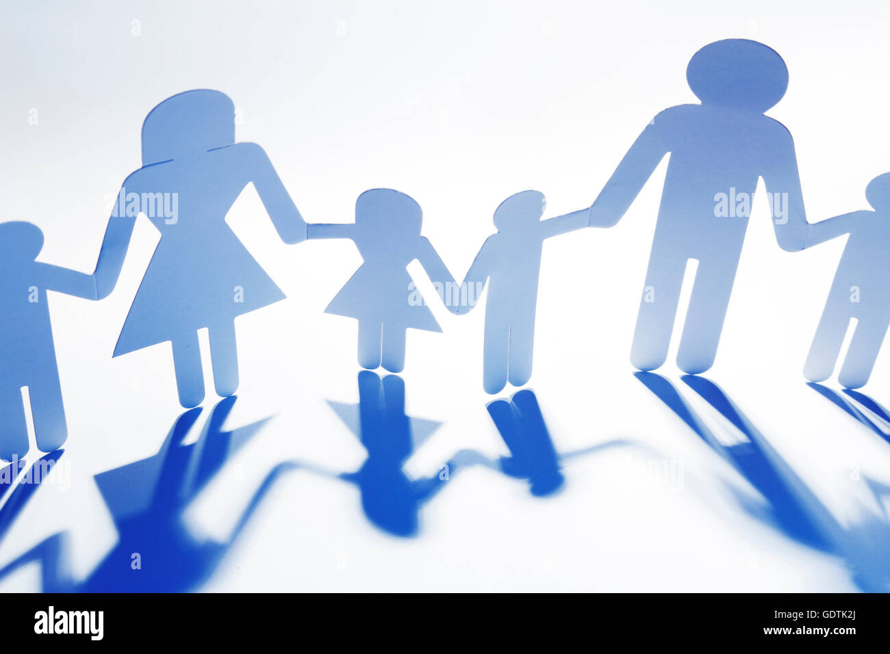 Paper Doll Family Stock Photos Paper Doll Family Stock Images