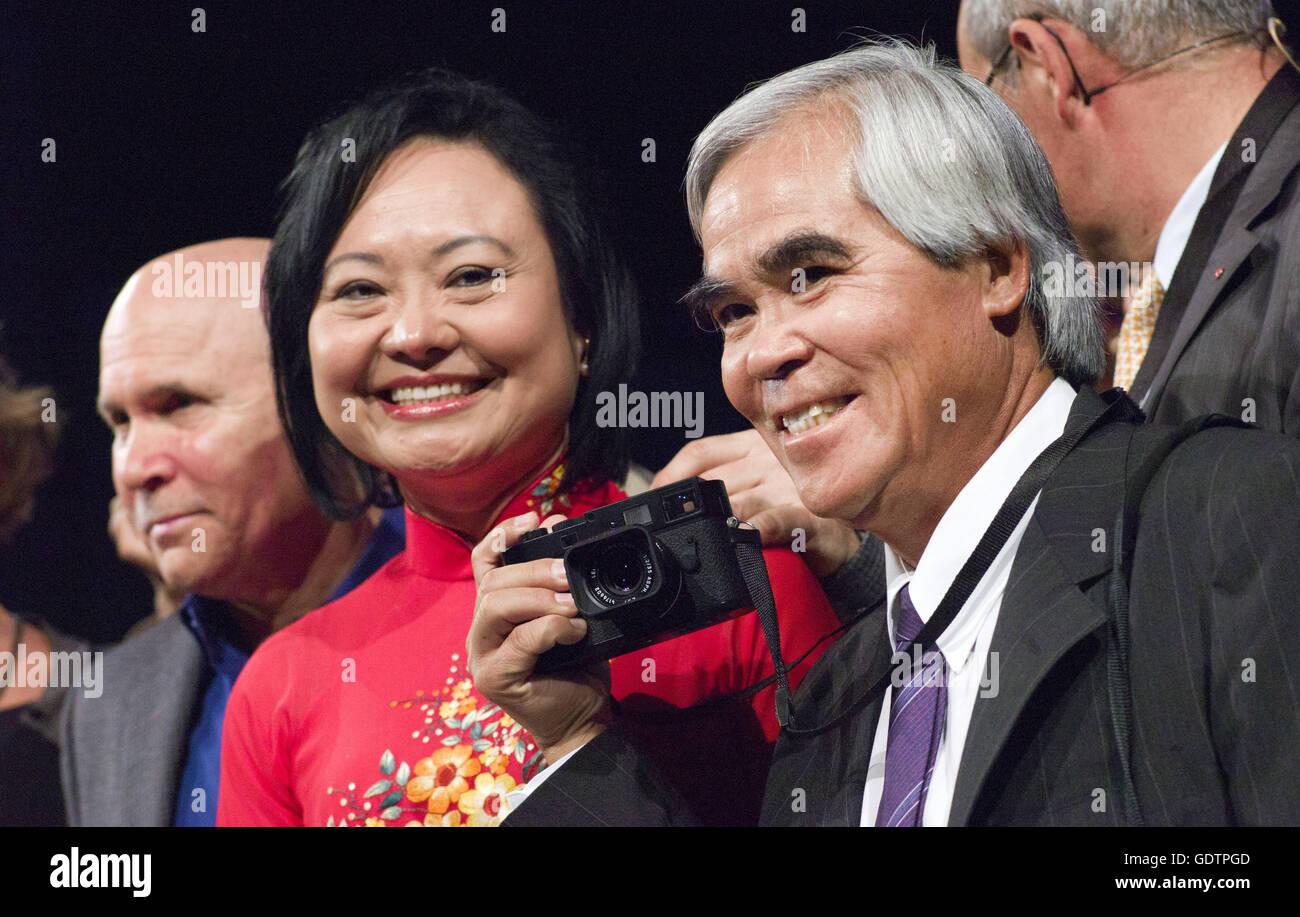 McCurry, Kim Phuc, Nick Ut - Stock Image