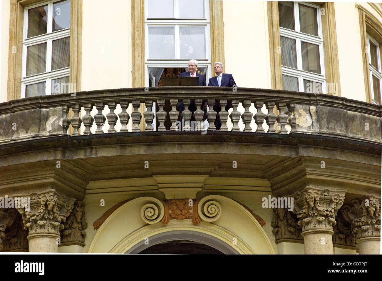Lingemann and Gauck - Stock Image