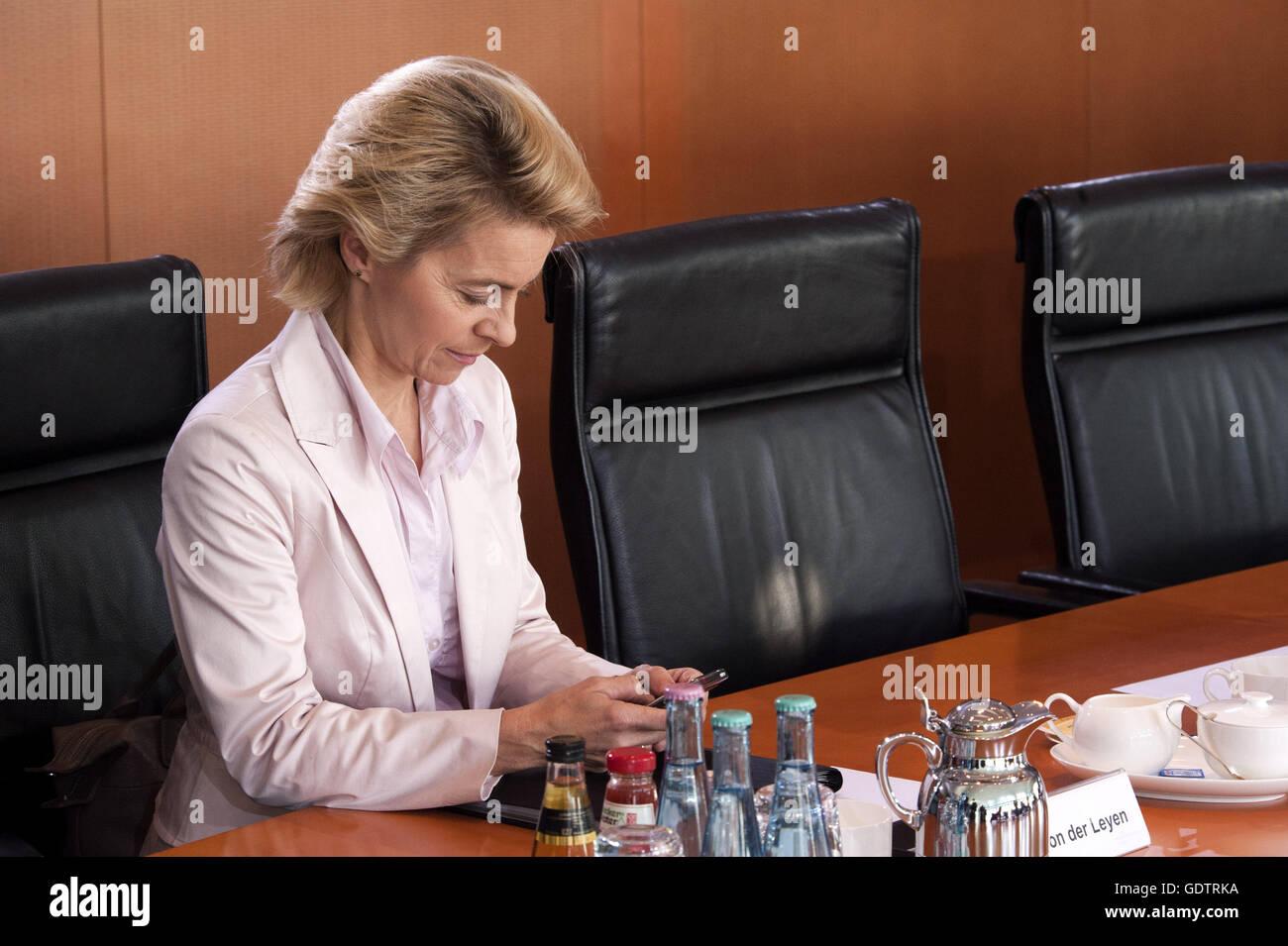 Ursula von der Leyen - Stock Image