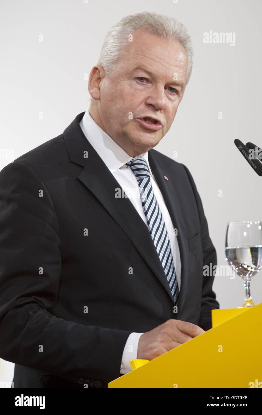 Ruediger Grube - Stock Image