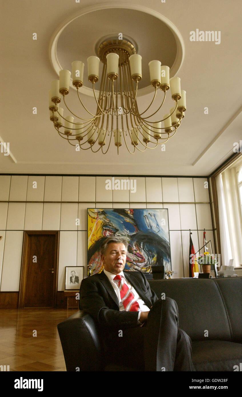Klaus Wowereit Stock Photo