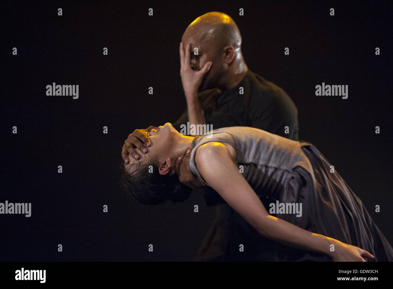 'Gnosis' by Akram Khan (dance and choreography) - Stock Image