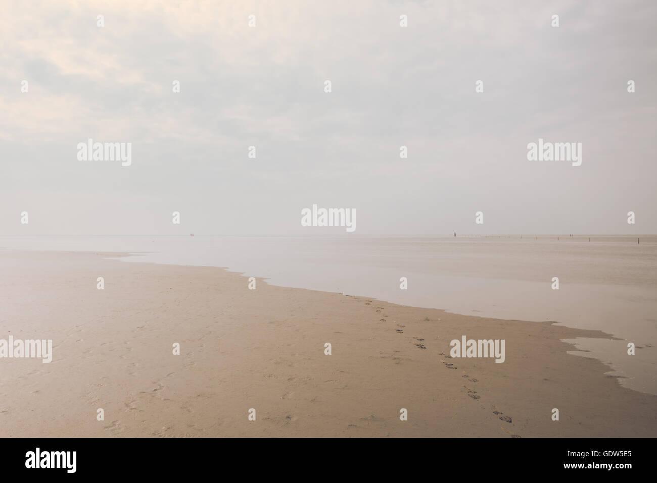 Minimal Seascapes - Stock Image