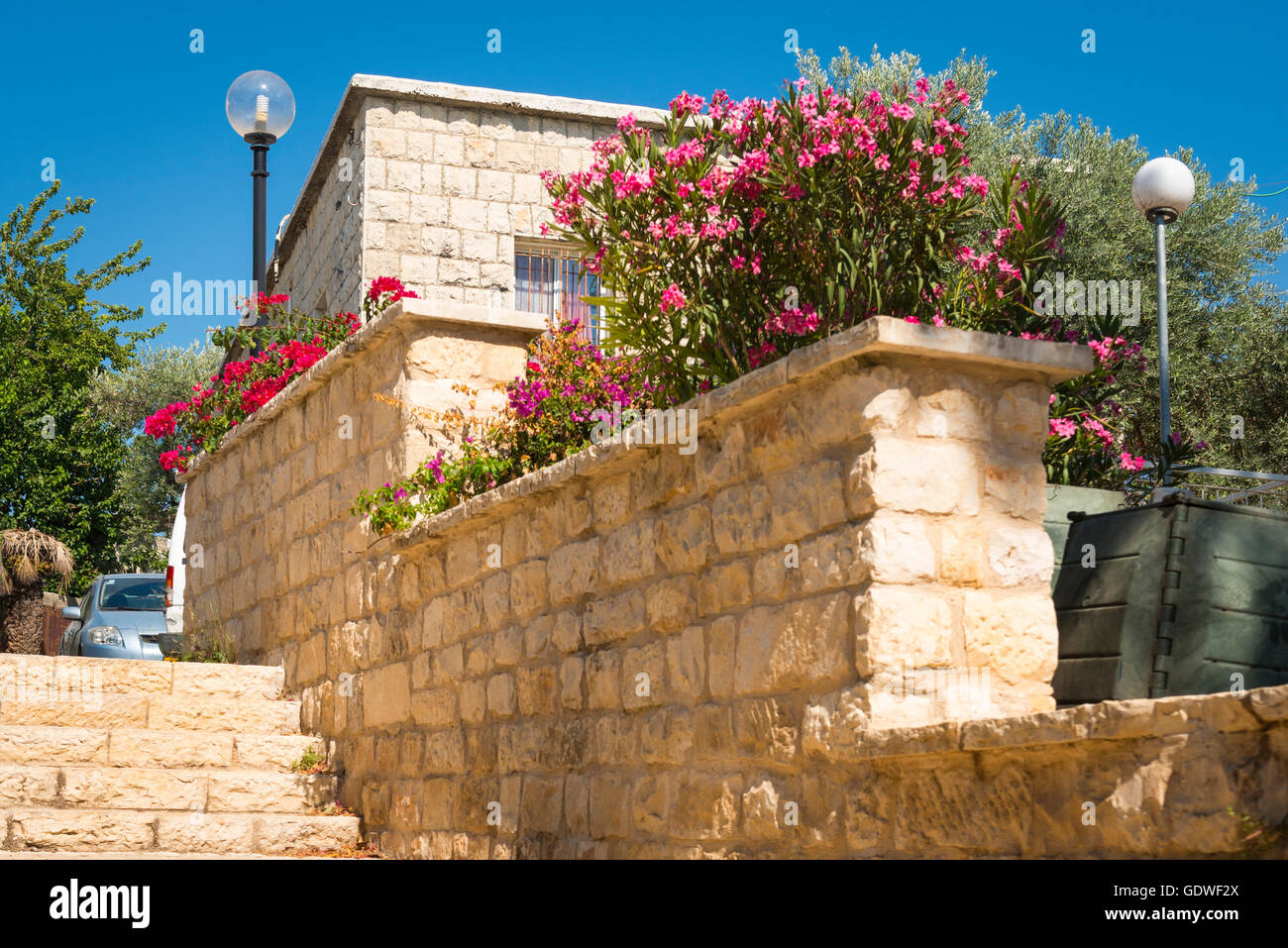 Israel Safed Zefat Tsefat Tsfat highest city in Israel holy site centre of Jewish Mysticism Kabbala since 1600 & - Stock Image