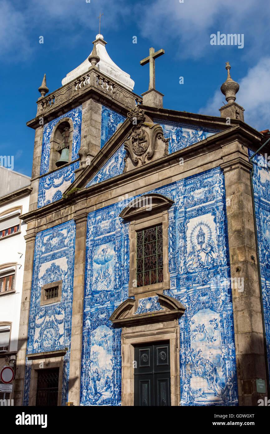 Capela das Almas church, Porto, Portugal - Stock Image