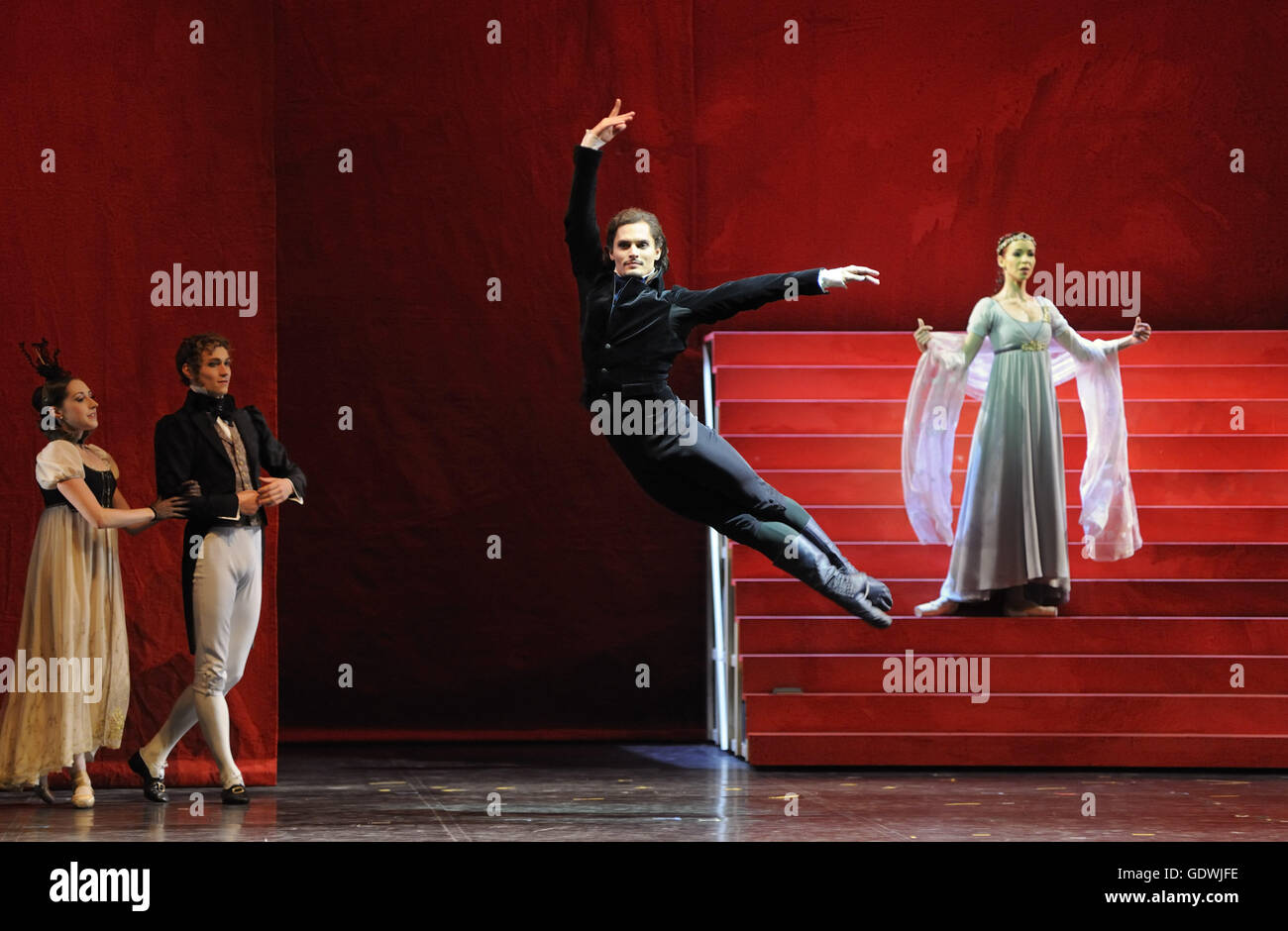'The Flaming Heart', ballet by Patrice Bart - Stock Image