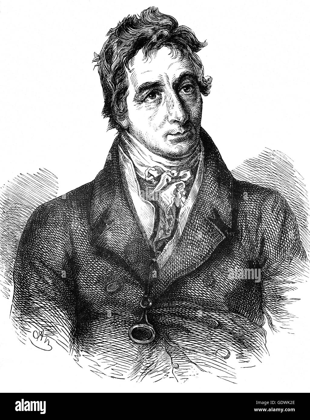 Henry Grattan (1746 – 1820) was an Irish politician and member of the Irish House of Commons, who campaigned for - Stock Image