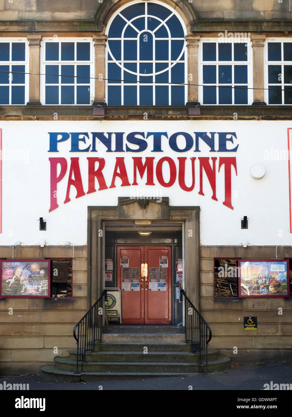 Penistone Paramount Community Cinema and Theatre Penistone South Yorkshire England - Stock Image