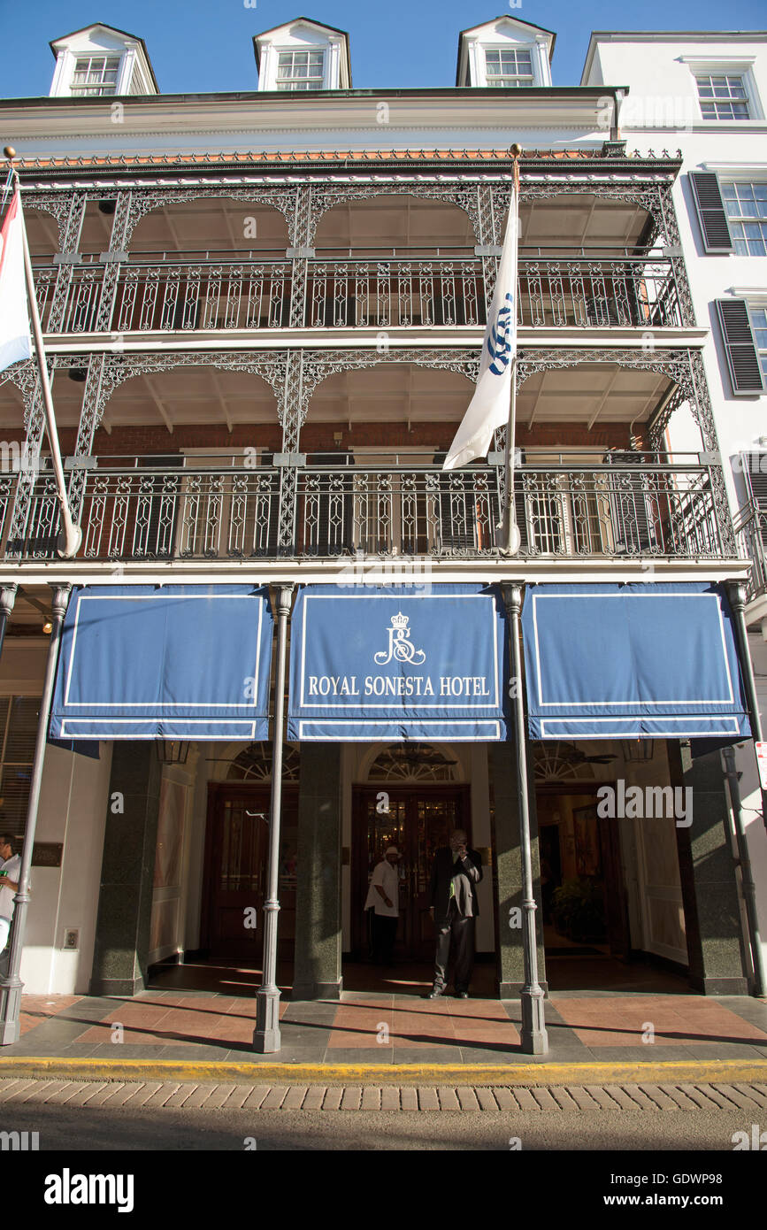 bourbon street hotels with balcony Bourbon Orleans Hotel Stock Photos Bourbon Orleans Hotel
