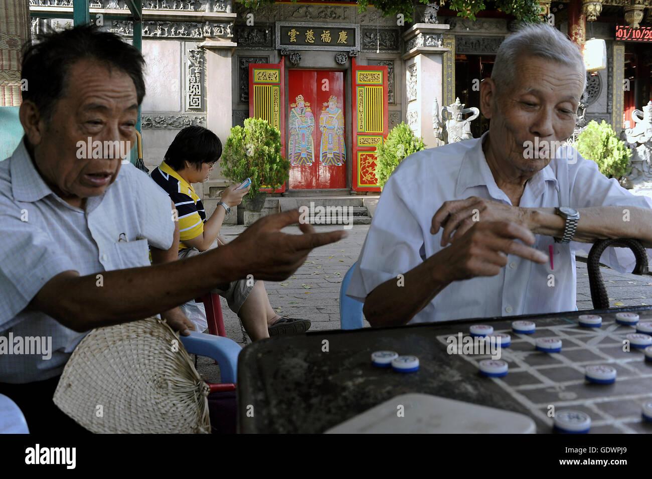 Chinese chess - Stock Image