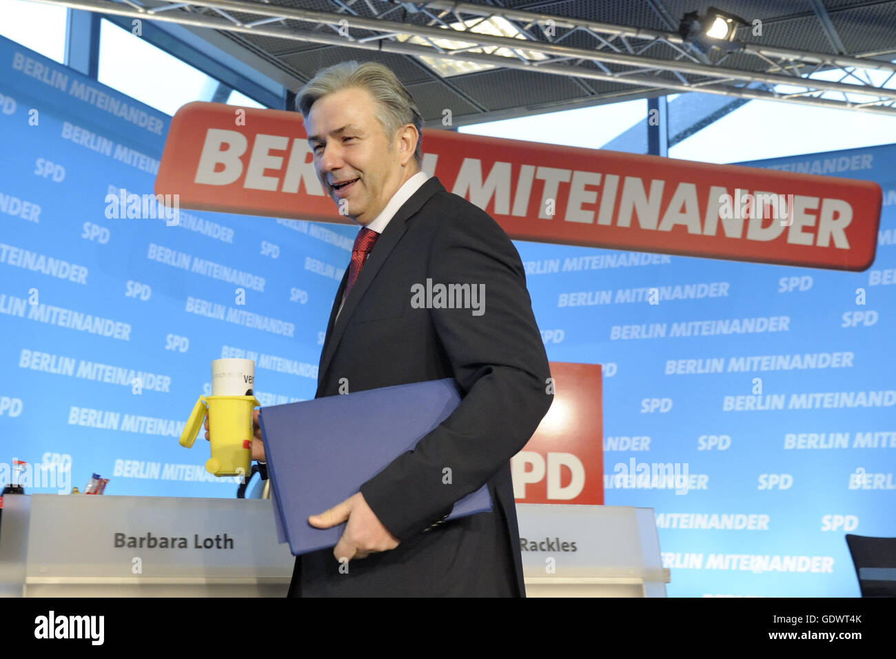 Klaus Wowereit Stock Photo