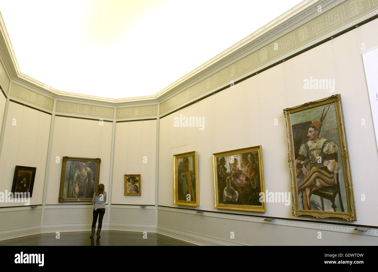 'The exhibition ''In the Temple of Art. Artistic Myths. The 19th century''' - Stock Image