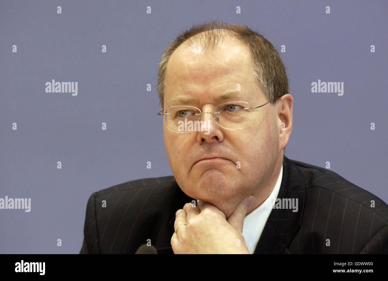 Peer Steinbrueck - Stock Image