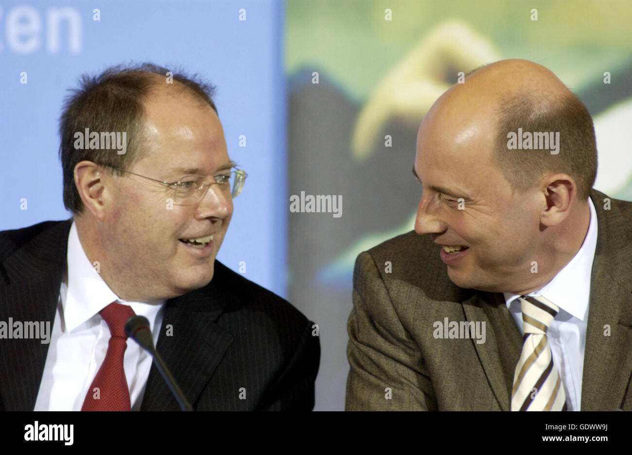 Steinbrueck and Tiefensee - Stock Image