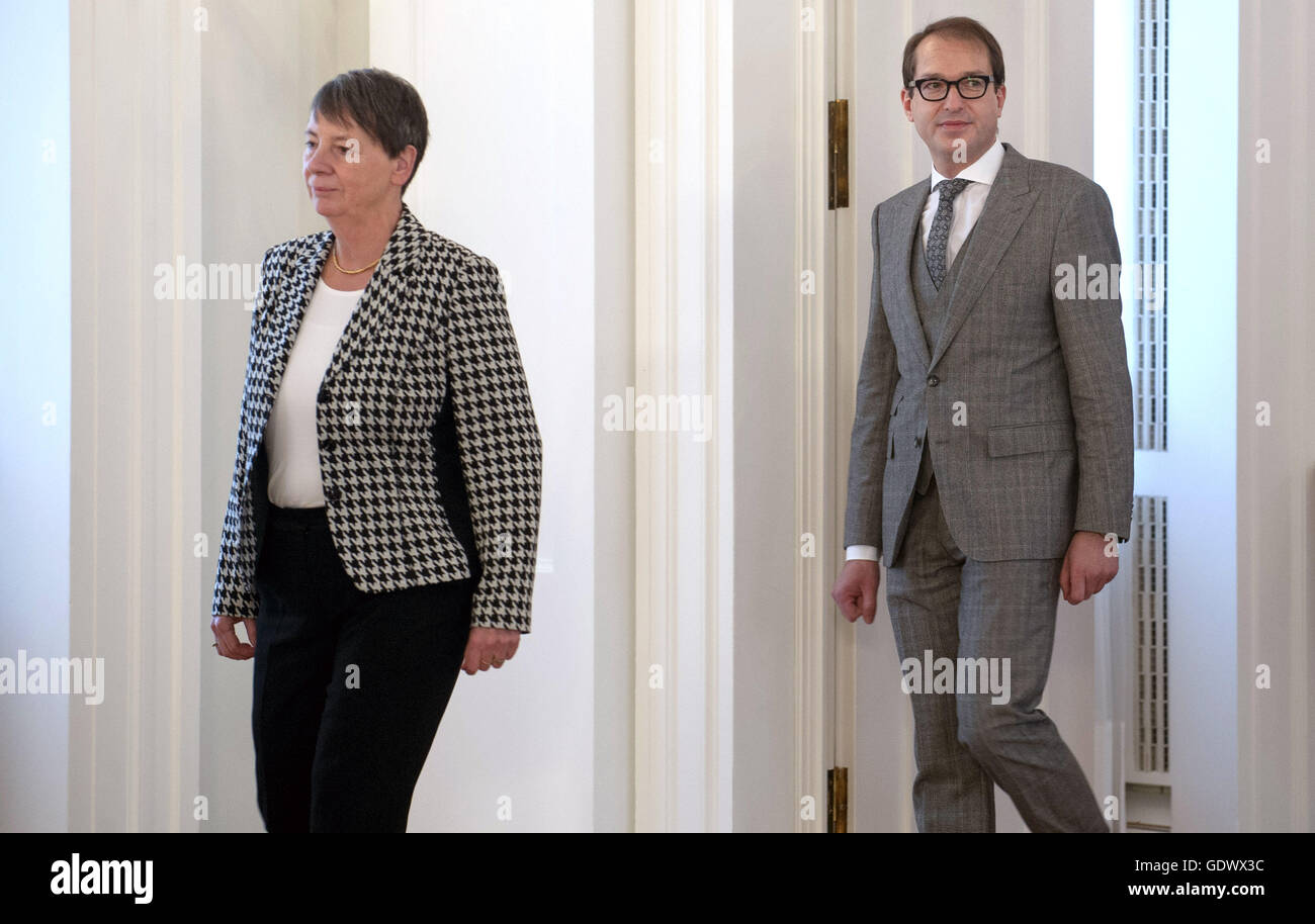 Hendricks and Dobrindt - Stock Image