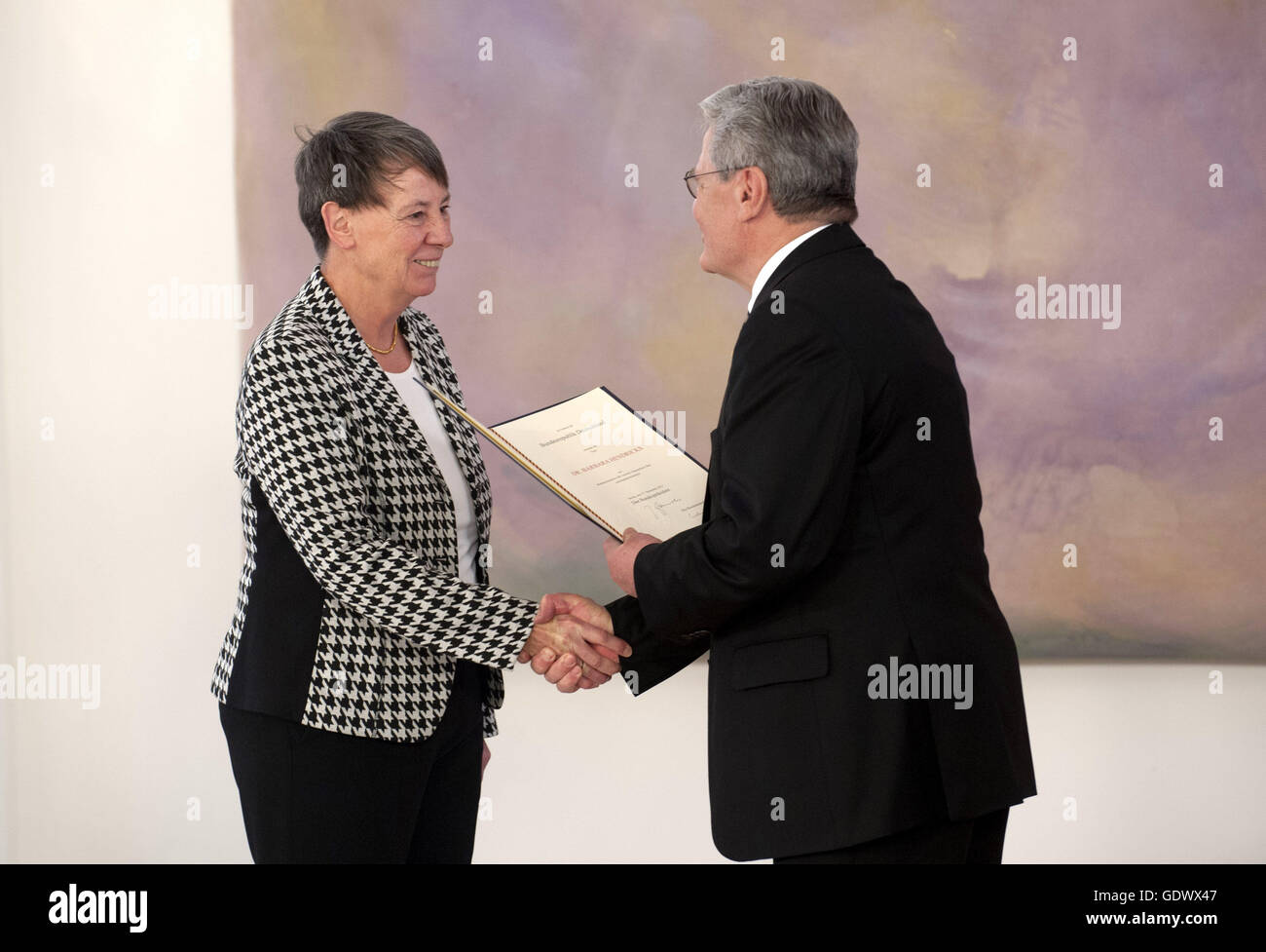 Hendricks and Gauck - Stock Image