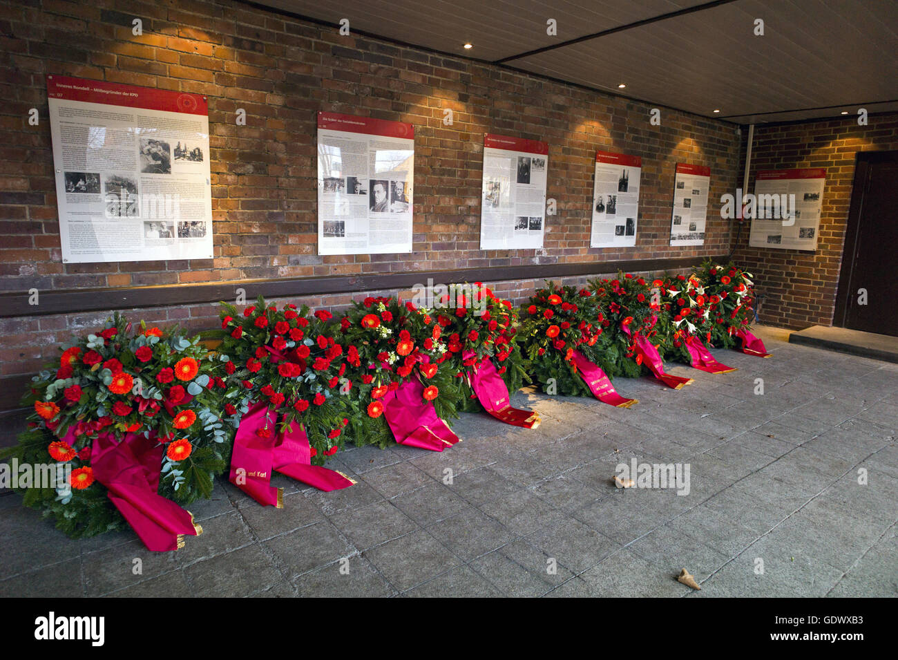 Memorial to the Socialists - Stock Image