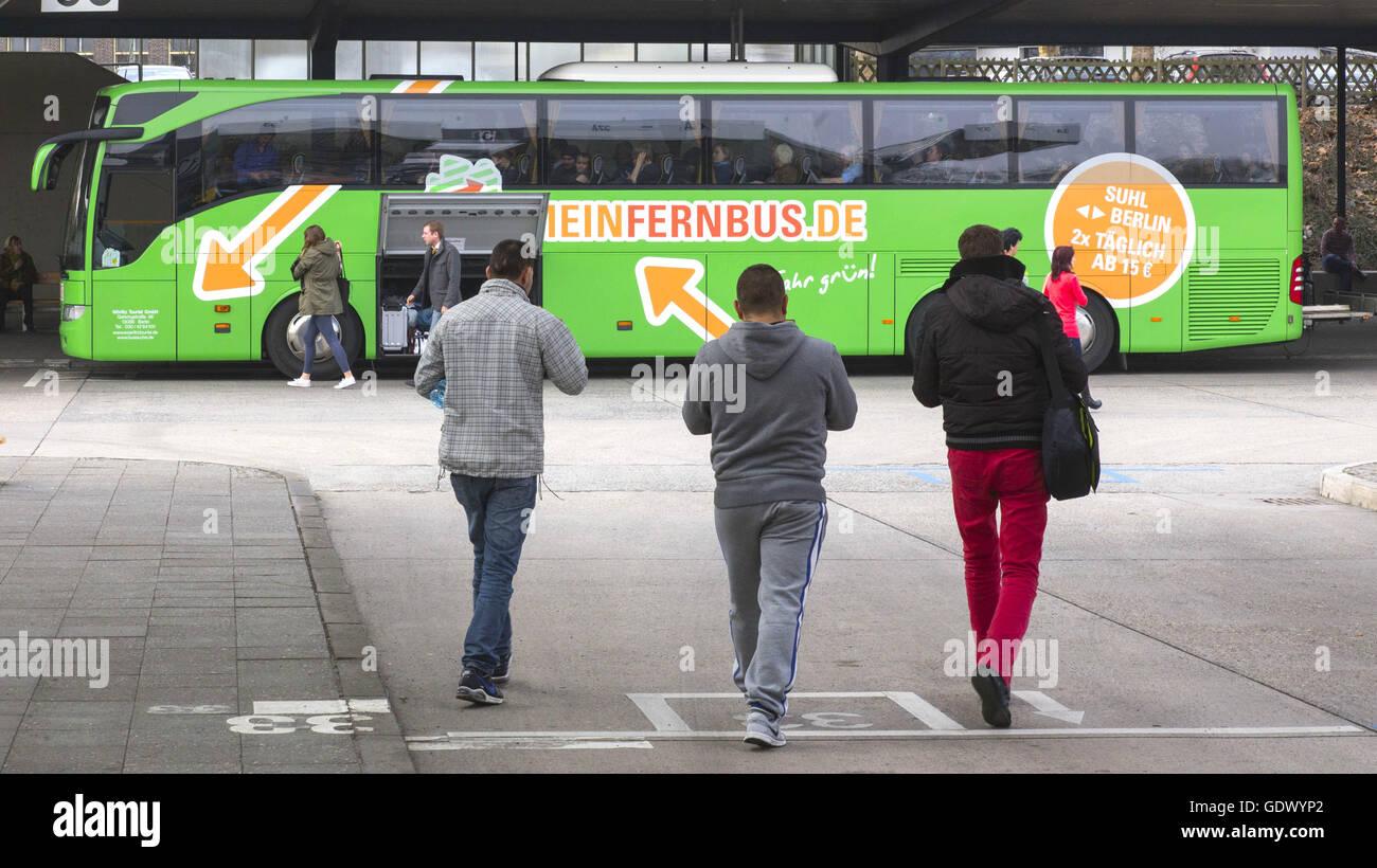 MeinFernbus.de Stock Photo