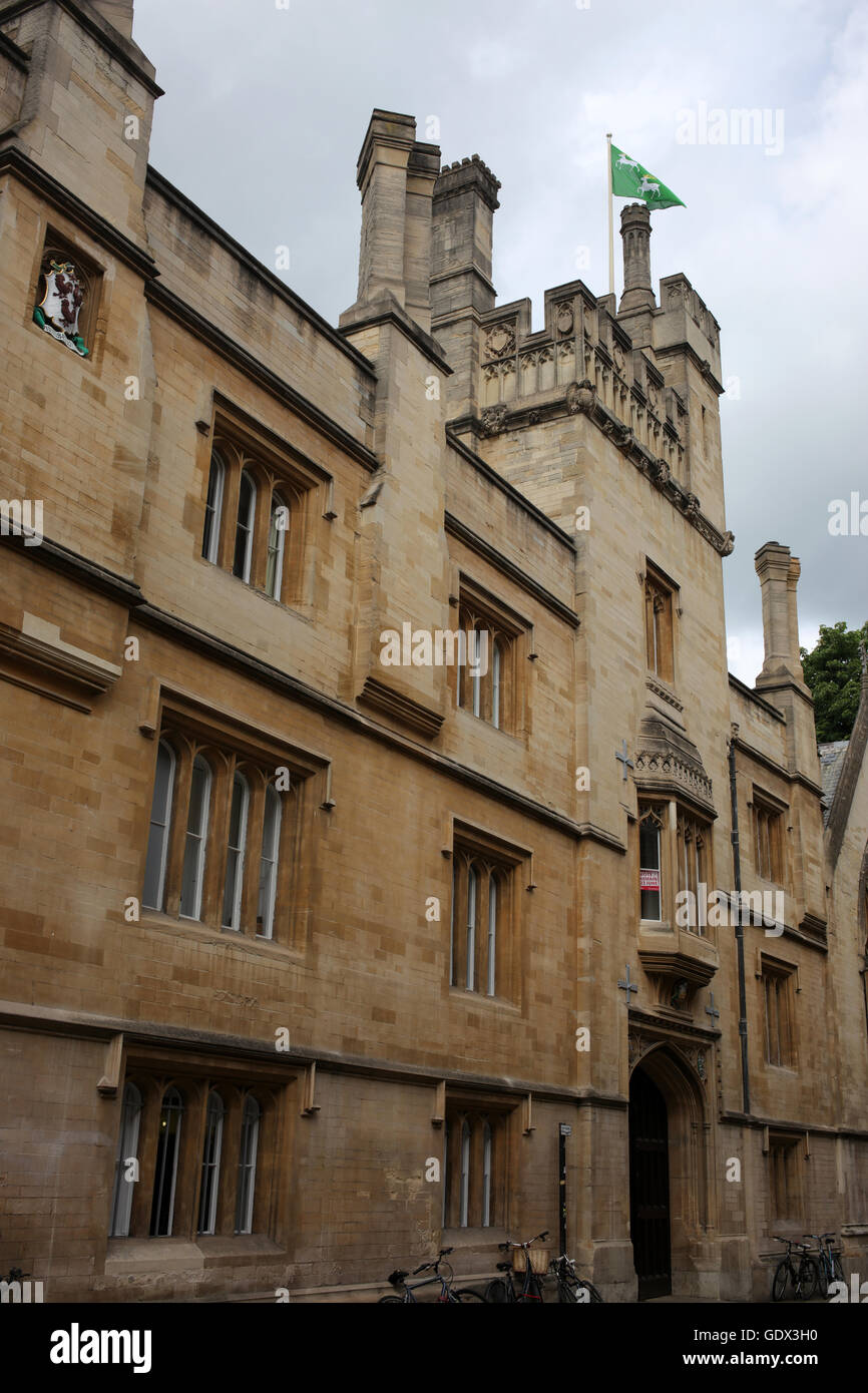 Brasenose lane - Oxford - Oxfordshire- England - UK - Stock Image