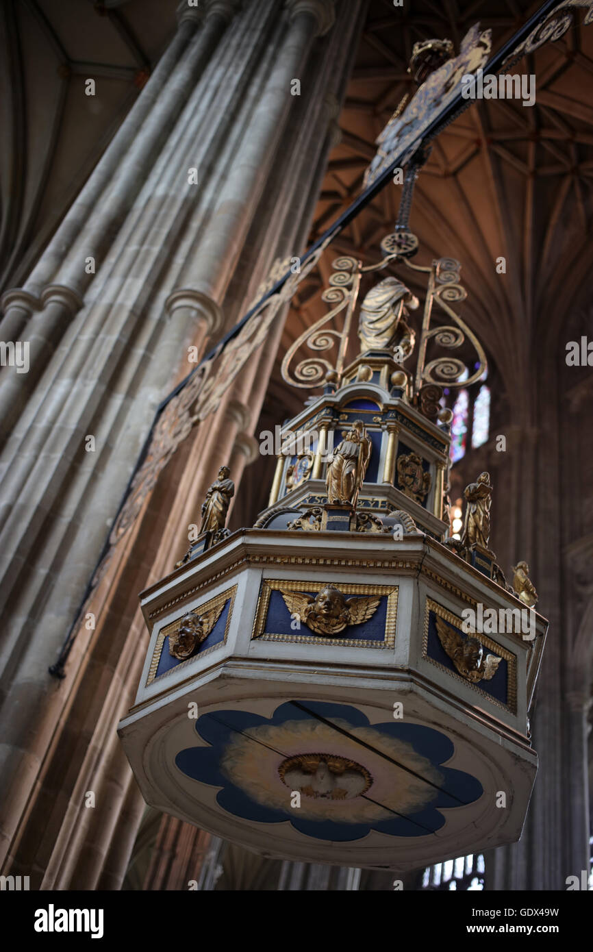 Canterbury Cathedral -Kent - England - UK - Stock Image
