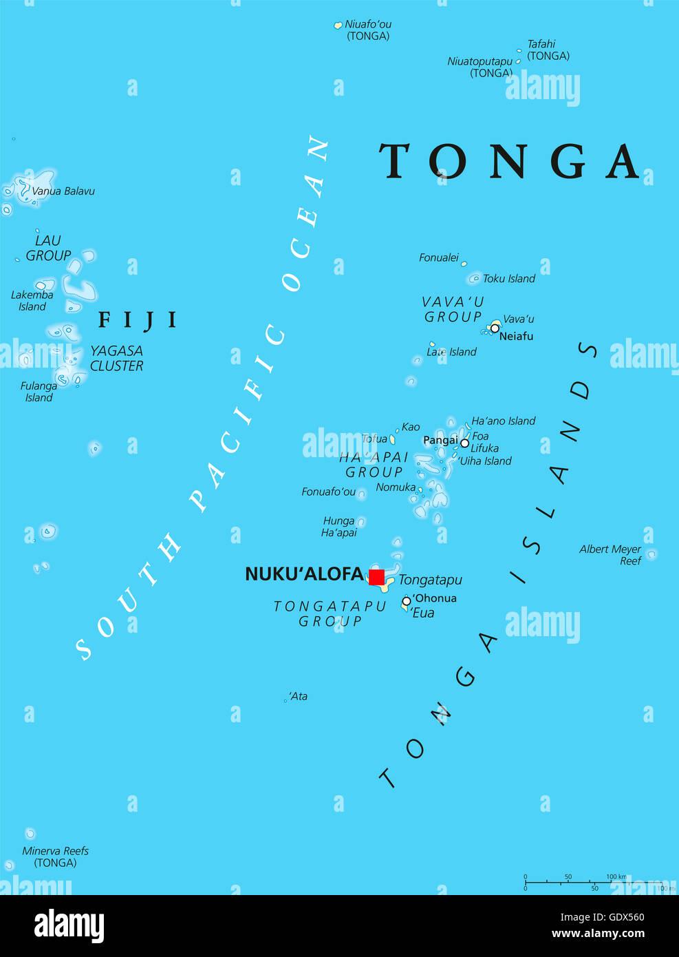 Tonga political map with capital Nukualofa. Kingdom, sovereign state on kingdom of mali map, republic of kiribati map, kingdom of dahomey map, tongatapu map, turtledove atlantis map, tonga on map, australia map, new zealand map, bourbon chase map, kingdom of benin map, tonga world map, kingdom of bhutan map, tonga country map, united kingdom map, tonga trench map, saudi arabia map, tonga volcano map, papua new guinea map, vava'u tonga map, bangladesh map,