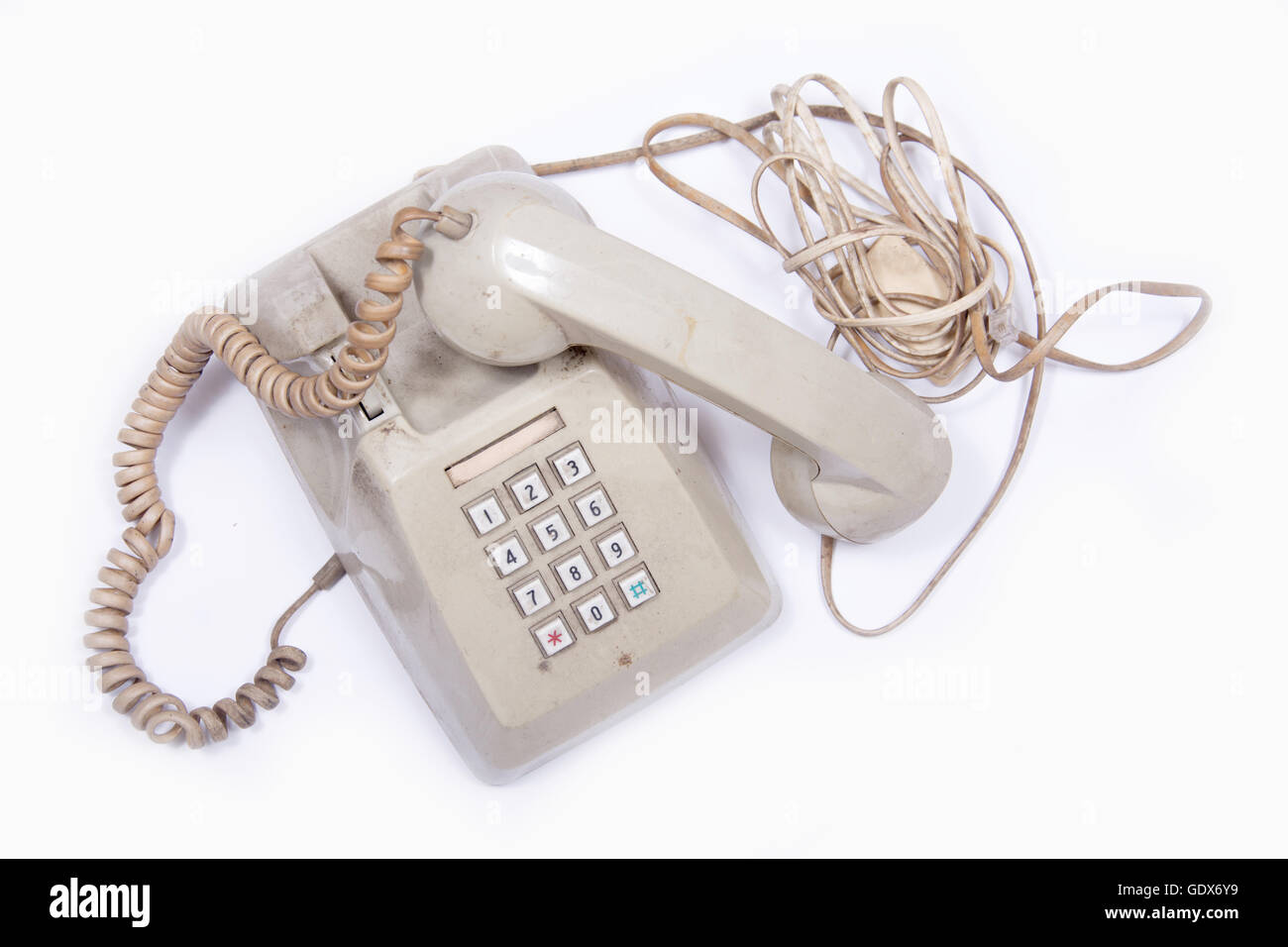 House Call Cut Out Stock Images Pictures Alamy Gdx Intercom Wiring Diagram Vintage Old Use Telephone Image